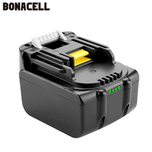 Bonacell 14.4V 3000mAh BL1430 Lithium-Ion Replacement Battery for Makita Cordless Tools 194558-0 194559-8 L10 BDF343 BDF343H