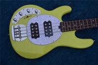 Green 4 Bass electric guitar left hand Chrome hardware, customized service