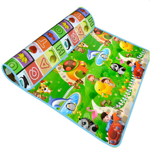 maboshi Double Fruit Letter Baby Play Mats Crawling Pad Kids Game Carpet Toys For Children Developing Rug Mat for Children Rug