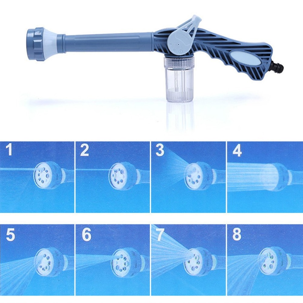 8 в 1 домашний сад Чистка пистолет опрыскиватель Пластик высокое Давление Ez Jet водометы Turbo опрыскиватель инструмент давление шайба