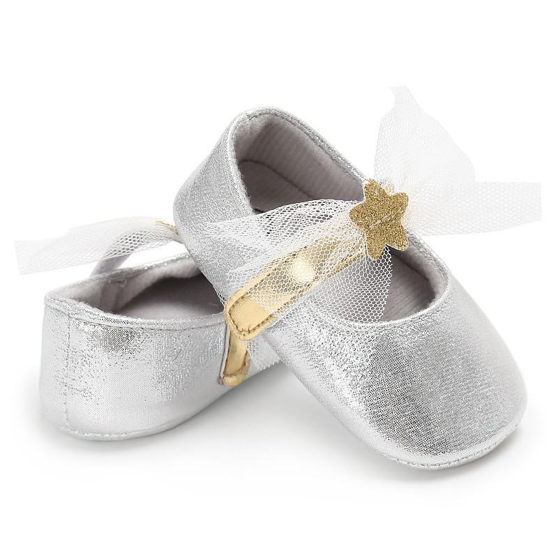 Genuine Leather baby shoes PU Leather First Walkers Soft Sole Infant Toddler Newborn Baby Girl Princes Shoes