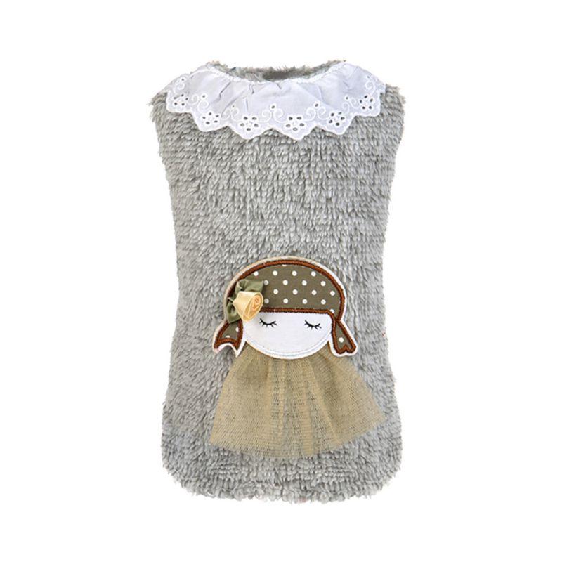 ჱRopa para mascotas perro suéter Puppy niña ropa del encanto del ...