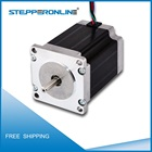Free Shipping Nema 23 CNC DC Stepper Motor 1.9Nm (269oz.in) 3A 1.8 Degree Bipolar 76mm Length 4 Wires for DIY CNC Router Lathe