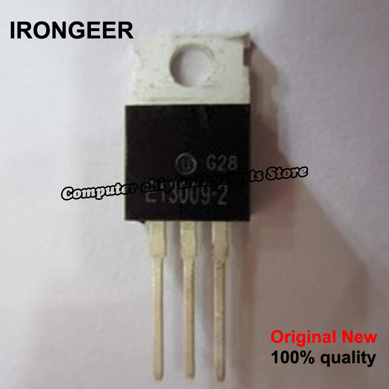 10piece 100% New MJE13009 E13009 2 13009 E13009 TO 220 Original IC chip Chipset BGA In Stock-in Circuits from Consumer Electronics