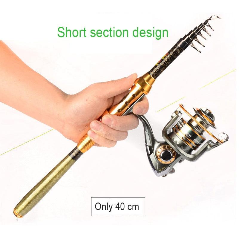 Short mini sea otter 1.8 2.4 2.7 3.0 m sea fishing rod set free shipping specials