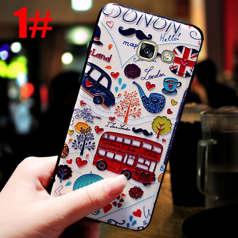 YonLinTan luxury coque,cover,case For Samsung Galaxy a5 2016 a510 Back etui 3D cute mobile phone 360 Original cases accessories Multan