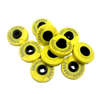 134 2khz ISO11784 ISO11785 Rfid Ear Tag For Animal Cattle Sheep Pig Management 10pcs Lot