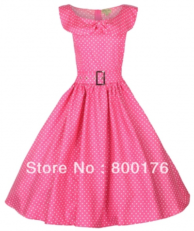 Free Shipping NEW VINTAGE 1950'S ROCKABILLY FORMAL PARTY EVENING PROM BALL GOTH PIN UP DRESS