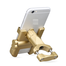 aluminium alloy electrombile handlebars phone stand holders Courier Take-out bike motorcycles Rearview mirror universal mount
