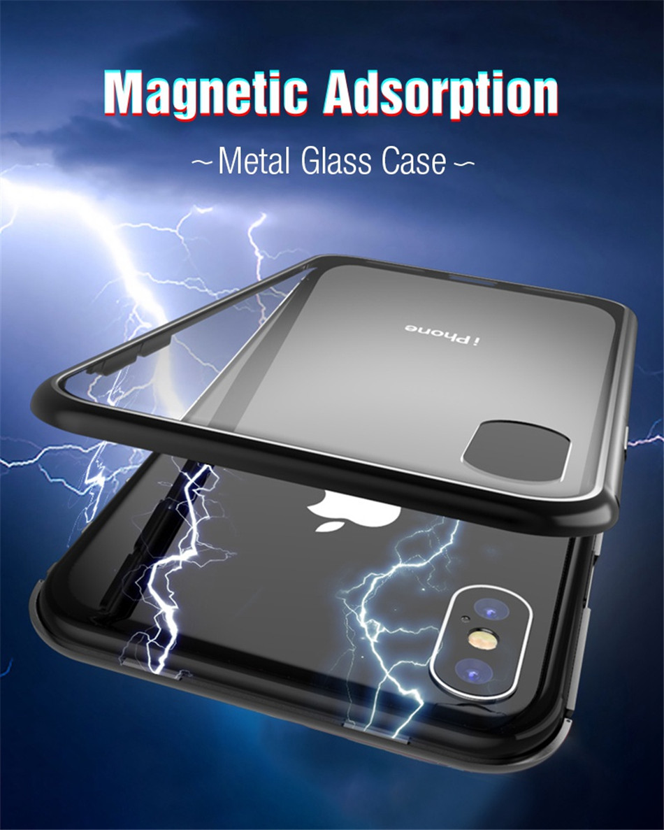 iphone x xs max Magnetic case 01