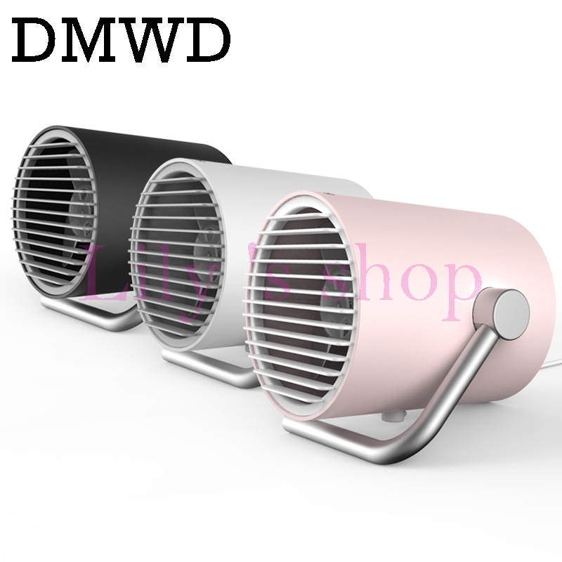 DMWD mini Desktop USB air conditioner Fan Portable Ventilation Conditioning Blower cooling fans Ultra-quiet Air Conditioner computador cooling fan replacement for msi twin frozr ii r7770 hd 7770 n460 n560 gtx graphics video card fans pld08010s12hh