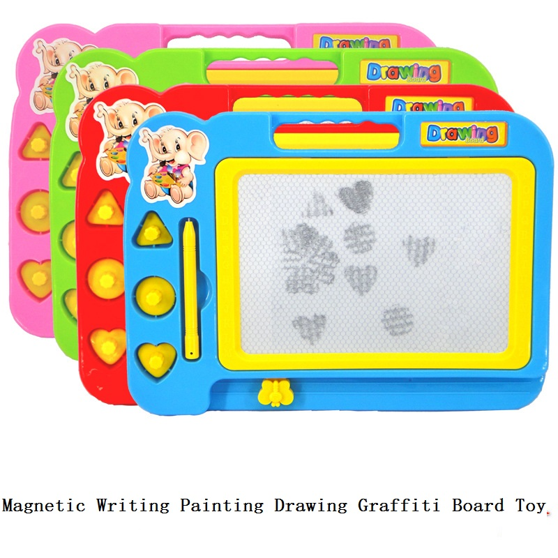 Colorful Magnetic Writing Painting Drawing Graffiti Board Toy Preschool Tool Puzzle Resistant Play Girl Kids Birthday Toys Gift