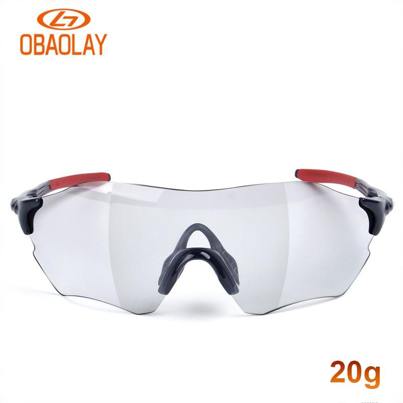 Lunettes de cyclisme photochromiques hommes femmes en plein air lunette de sport UV 400 protection vtt vélo de route TR-90 de course vélo lunettes de soleil