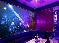 Free Shopping 2014 New Non Woven Vector Dazzle Light KTV Decorative Background Wallpaper On The Violin