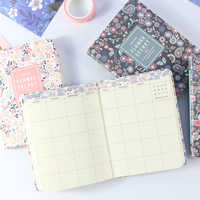 Domikee 2019 year new undated South Korea cute school weekly planner notebook stationery,fine person agenda planner organizer A6