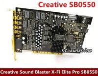 Оригинальный разбирать для Creative Sound Blaster X-Fi Elite Pro SB0550 7,1 Звуковая карта работает хорошо
