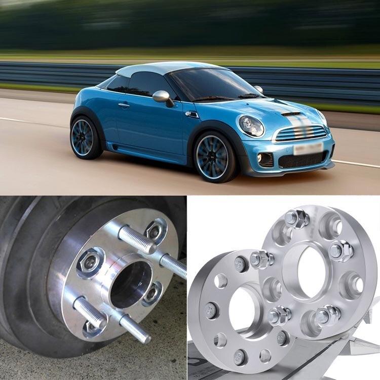 Teeze 4 pièces 4X100 56.1CB 25mm D'épaisseur Hubcenteric Adaptateurs D'espacement De Roue Pour MINI Coupé/Roadster