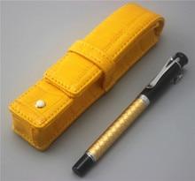 JINHAO ballpoint Pen and pen bag School Office Stationery brand roller ball pens men women business gift send a refill 019
