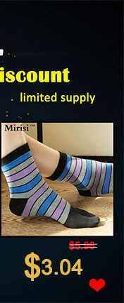 Colorful woman pure cotton comfortable toe socks  (4)