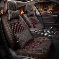 Деревянные борта сиденья автомобиля укладки автомобильные аксессуары чехлы сидений автомобиля подушка для skada octavia a5 2 kodiaq audi a3 8 P hyunda