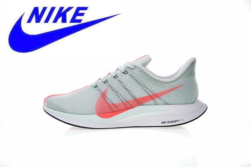 size 40 aec8b 2d968 Chegada nova Original Zoom Nike Pegasus 35 Turbo Tênis de Corrida dos homens  Das Sapatilhas Formadores calçados esportivos Ao Ar Livre, não slip em Tênis  de ...