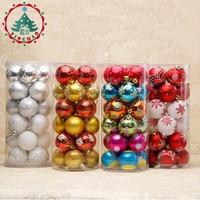 2018 New Year Christmas Tree Balls Christmas Tree Ornament Polystyrene Christmas Balls Christmas Decorations