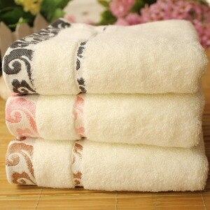 Image 1 - Presentes de algodão puro de alta qualidade, toalhas, fio de torção, jacquard, xiangyun, pano de lavagem engrossado, logotipo personalizado atacado