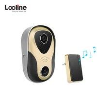 Video Intercom Door Phone Door Viewer Video Call Looline 720P HD IP Doorbell Support POE Video