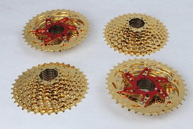 SUNSHINE vtt VTT pièces de vélo 10 vitesses cassette volant 11-36T engrenage vilebrequin pièces de vélo pignon de boîte