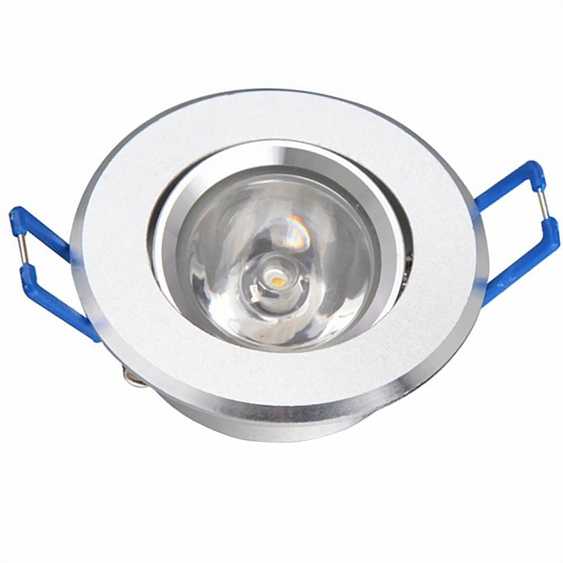 Free shipping 10pcs/lot Mini LED Downlight 1W 3W High Power led cabinet light/spot light led ceiling lamp AC85-265V