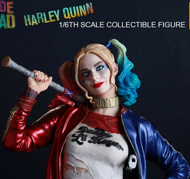 NEW hot 30cm Suicide Squad Harley Quinn Harleen Quinzel collectors action figure toys Christmas with box ynynoo crazy toys joker suicide squad x dutch act team harleen quinzel harley quinn batman deadshot pvc action figure model 30cm