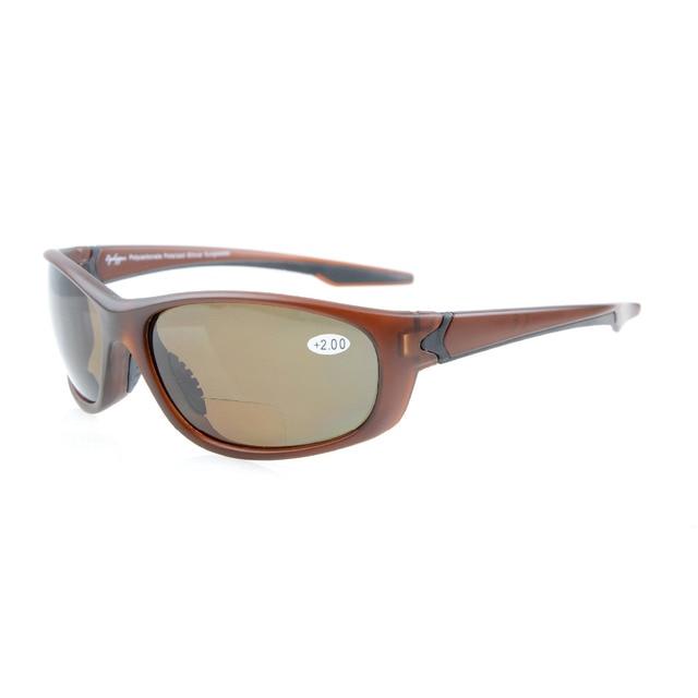 91e0412e8b TH6145PGSG Eyekepper Polycarbonate Polarized Bifocal Sport Sunglasses For  Men Women TR90 Unbreakable +1.50 +2.0 +2.5