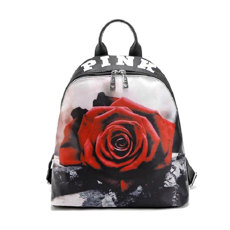 new fashion 2018 hot design VS Summer Holiday Beach letter bag Shopping BACKPACK Tote love pink backpack girl secret backpack