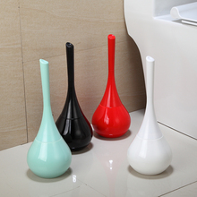 Multicolor Circular Ceramic Base toilet brush