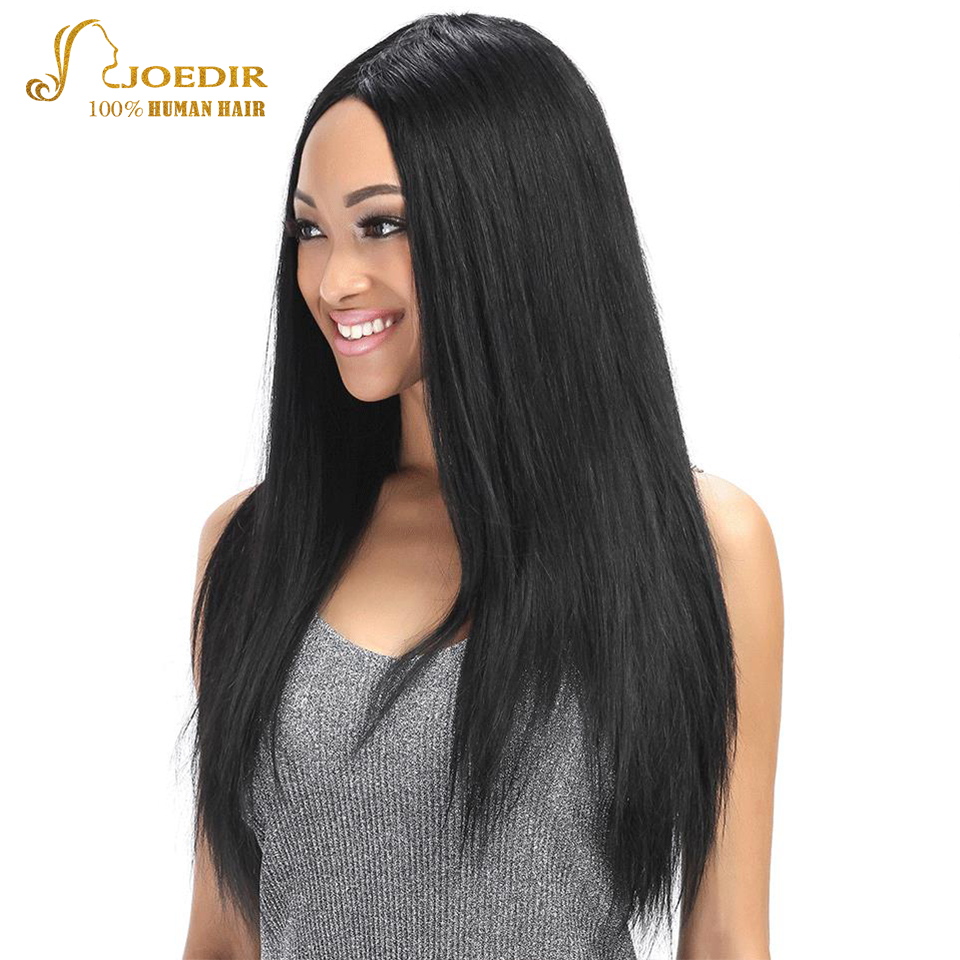 JOEDIR Pre-Colored Peruvian Straight Hair Closure 4 * 4 100% Human - Barbershop - Foto 1