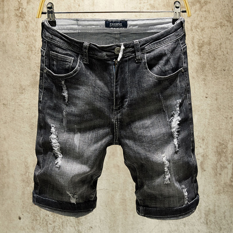 many fashionable available latest US $19.75 20% OFF 2019 Summer New Men Jeans Shorts,Black Colors Jeans  Shorts Men,Fashion Designer Short Ripped Jeans For Men,Men Pants-in Jeans  from ...