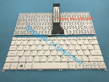 Original NEW English Keyboard For Acer Aspire V3 331 V3 331 P7J8 V3 371 V3 372 V3 372T Laptop English Keyboard White