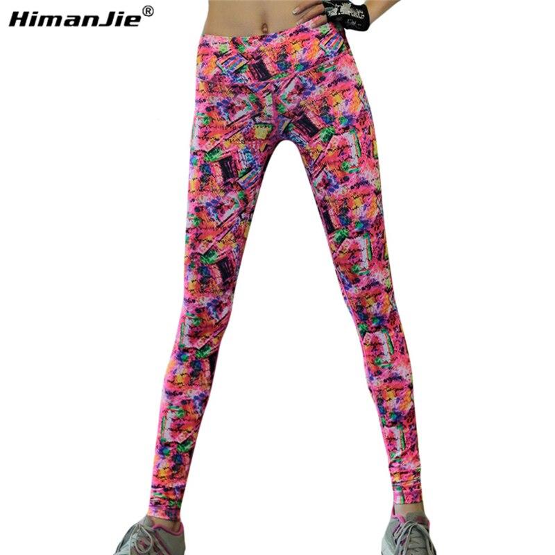 Date Sexy Femmes Sport Leggings Remise En Forme De Yoga Pantalon Lumineux  Couleurs Taille Haute Stretch Gym Sport Vêtements de Course Collants Legging  dans ... b00c6e8f78d