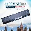 4400 mah batería del ordenador portátil para dell inspiron 1520 1521 1720 1721 530 s para vostro 1500 1700 0uw280 uw280 312-0518 312-0520 312-0575