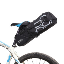 Waterproof Bike Saddle Bag Pouch Bicycle Tail Rear bags Pannier Cycling MTB Road Bike Saddle Tube Bag Pouch Bicycle Accessories цена