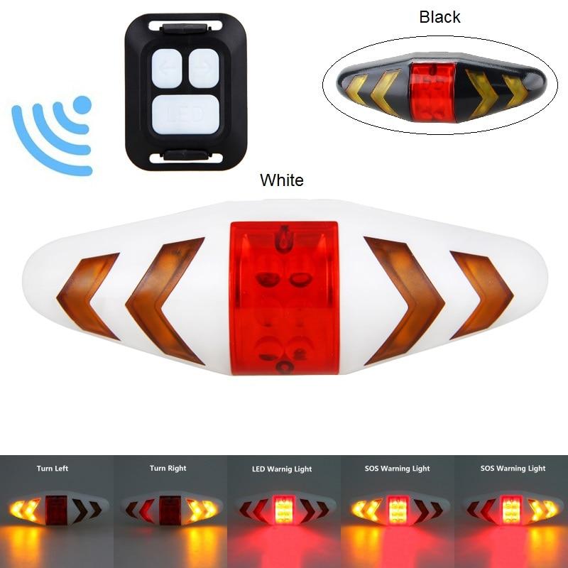 LED Flashlight Bicycle Tail Light Cycling Rear MTB Safety Red Light Bike Lamp Au