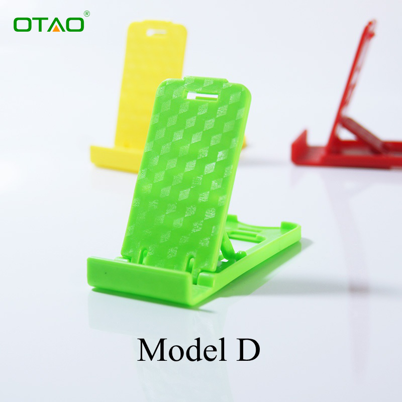 Mini Mobile Phone Holder 3D Man Portable Adjustable Universal Foldable Phone Stander For iPhone For Samsung