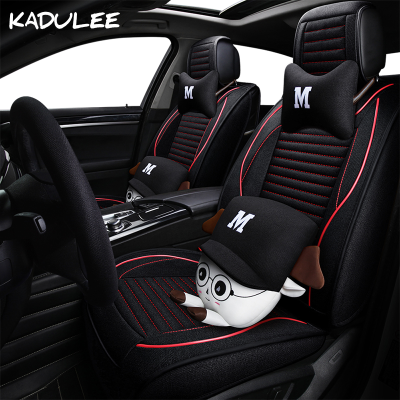 Hyundai Civic For Sale: KADULEE Flax Auto Car Seat Covers For Renault Laguna 2