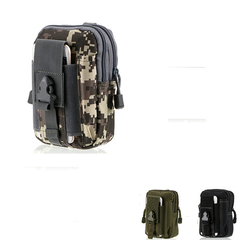 Portable Outdoor Molle Pouch Tactical Waist Bag Waterproof Medical Military First Aid Phone Molle Pouch  Sling Pouch Bag CasePortable Outdoor Molle Pouch Tactical Waist Bag Waterproof Medical Military First Aid Phone Molle Pouch  Sling Pouch Bag Case