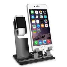 2 в 1 зарядная док-станция для Apple Watch Подставка 4 3 2 1 iwatch 42 мм 38 мм 44 мм 40 мм iPhone 8X8 Plus samsung S8 станция