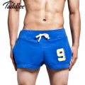 Taddlee Brand Men Boxer Shorts Cotton Mens new Shorts  Boxer Trunks Casual Man Shorts Active Fitness bodybuilding Shorts Hot