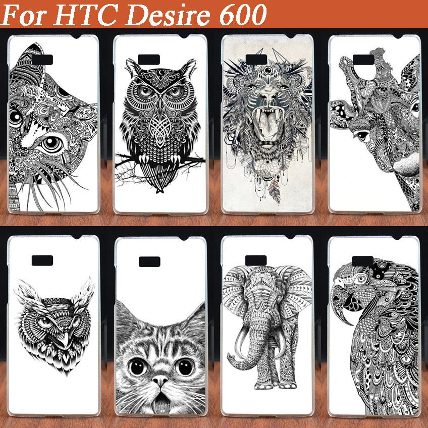 New Fashion Painted Diy Black And White Animals Design Pattern Hard Pc Phone Case For Htc Desire 600 606w Colored Cover Case Case For Htc Designer Phone Casephone Cases Aliexpress,Free Christmas Embroidery Designs Pes