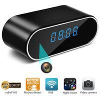 4K WIFI Mini Camera Z12 Time Alarm Wireless Nanny Cam Clock P2P IP/AP Security Night Vision Motion Detection Baby Monitor