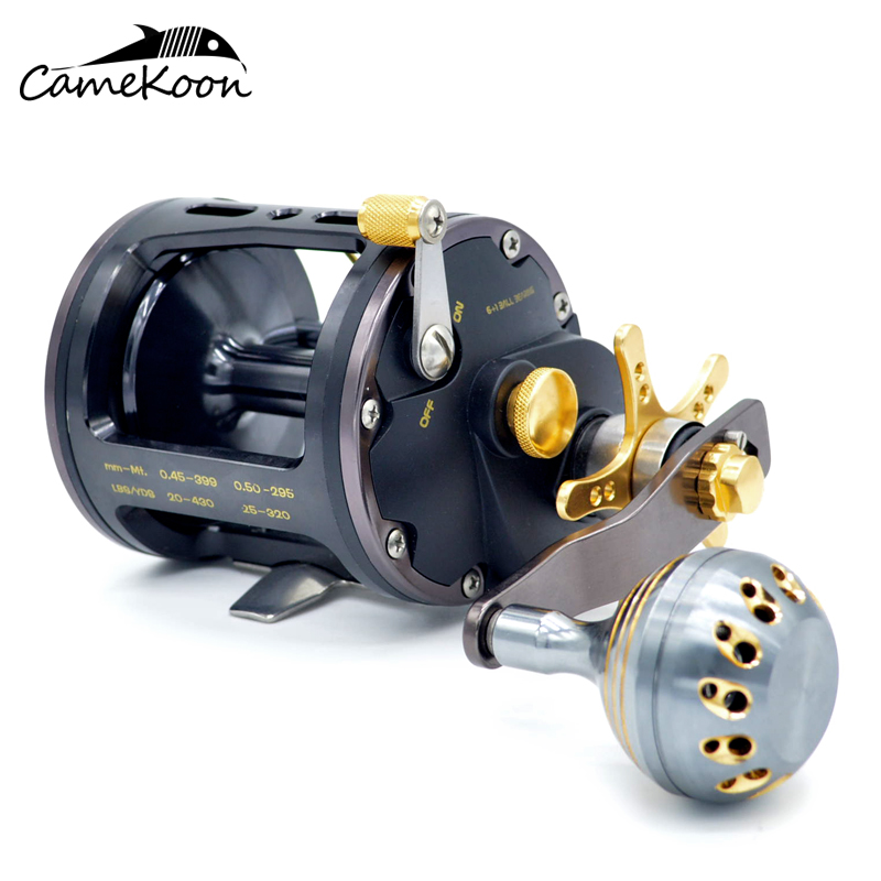CAMEKOON Level Wind Strong Trolling Saltwater Fishing Reel For Ocean Boat Fishing поводковый материал trabucco t force ultra strong saltwater