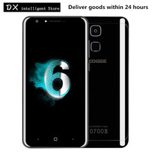 Doogee Y6 Piano Black 4G LTE Mobile Cell Phone 5.5inch HD MTK6750 Octa Core Android 6.0 4GB+64GB 13MP OTA Fingerprint SmartPhone